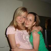 Павлова Ксения и Агаркова Катя. Зимние каникулы 2007-2008!