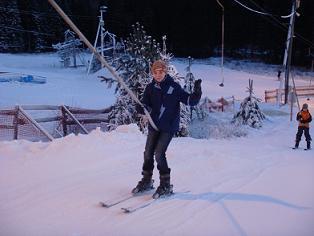 На зимних каникулах: Никифорова Лина