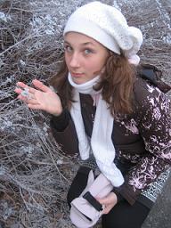 Зимние школьные каникулы. Аня Лазарева
