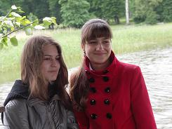 Летние каникулы. Белокурова Женя и Мордашева Анастасия