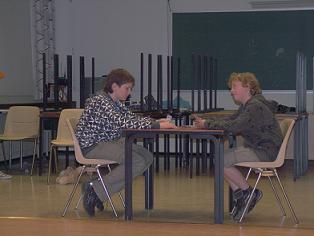 Мои школьные каникулы. Васильев Женя (слева)