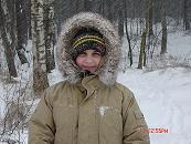 Зимние школьные каникулы. Аня Скерджева