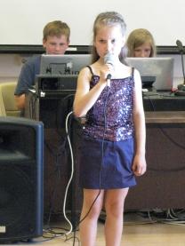 Летние каникулы 2010. Полина Басалаева