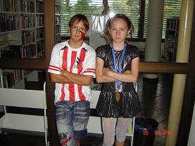 Бадьина Настя и Слаква Марина