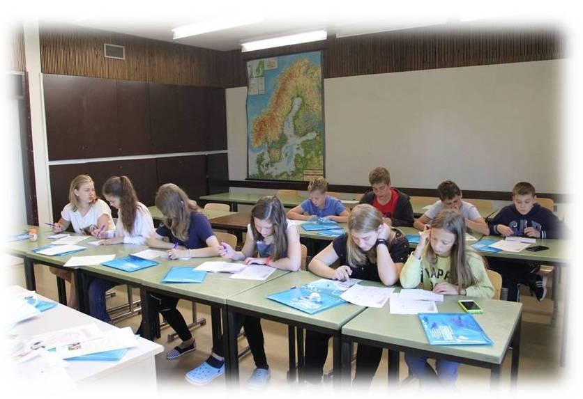английский в летнюю смену в детском лагере в Порвоо