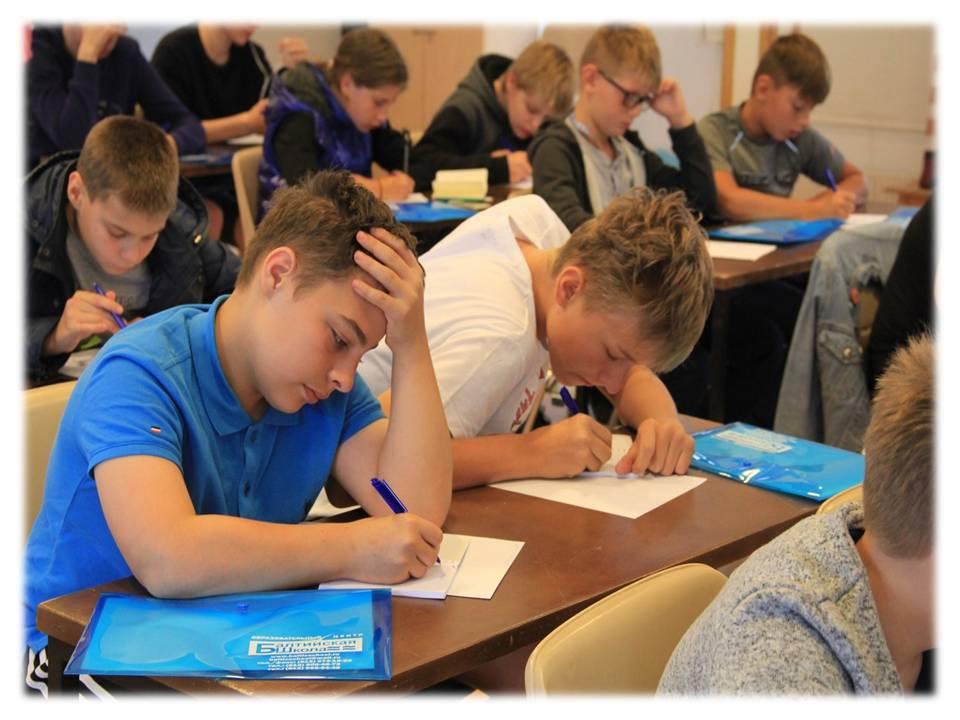 Урок английского в языковом лагере в Финляндии