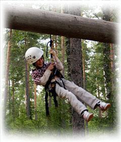 Летний лагерь в Финляндии