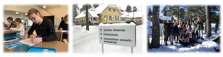 детский лагерь на зиму в Финляндии
