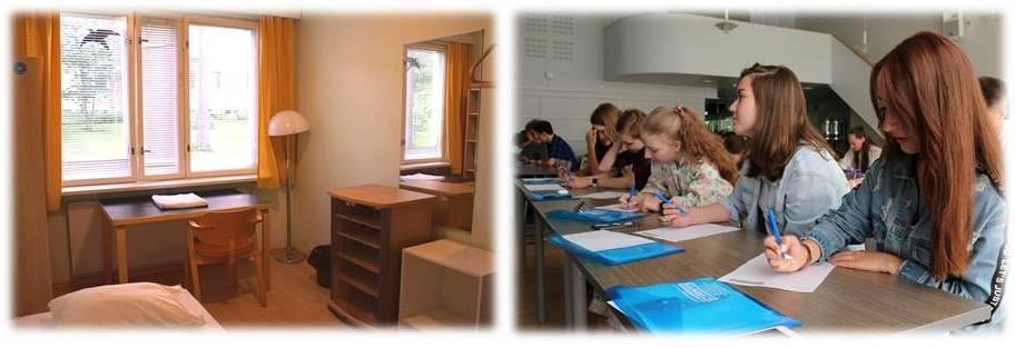 летняя смена в детском лагере в Финляндии