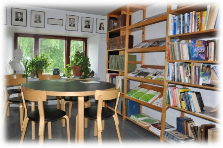 библиотека колледжа в Финляндии