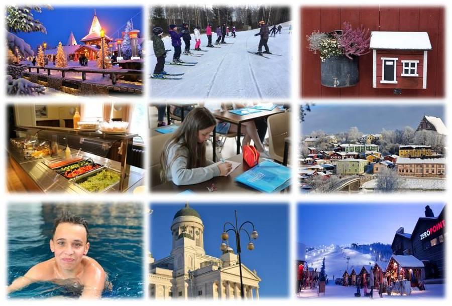 лагерь на зимние каникулы