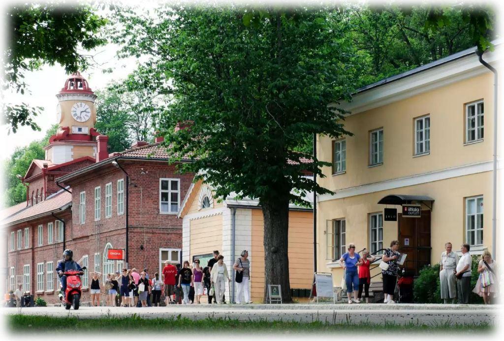 Fiskars Village экскурсия для детей